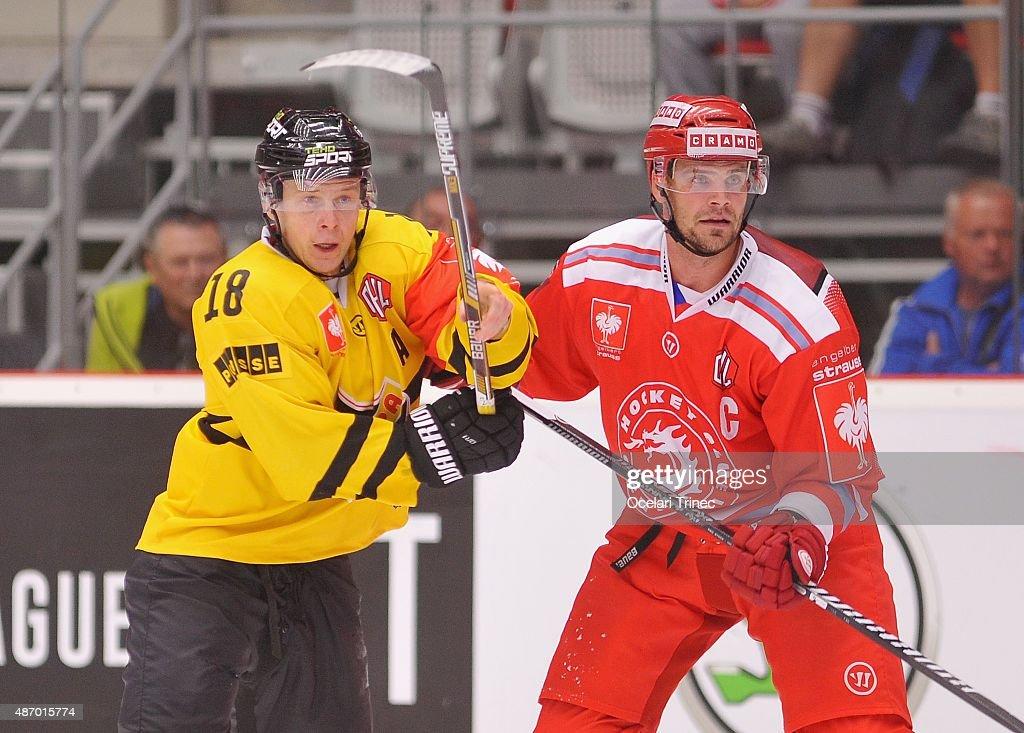 Ocelari Trinec v Kalpa Kuopio - Champions Hockey League : News Photo