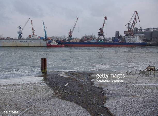 rostov-on-don sea trade port (a port of five seas), russia - argenberg stock pictures, royalty-free photos & images