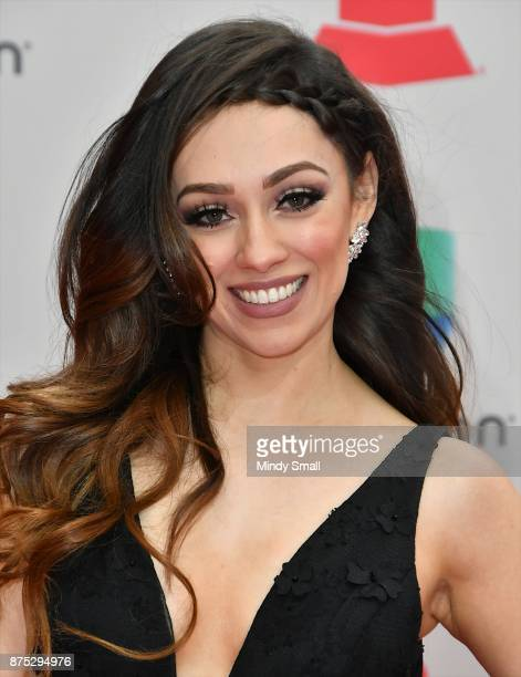 Rosy McMichael attends the 18th Annual Latin Grammy Awards at MGM Grand Garden Arena on November 16 2017 in Las Vegas Nevada