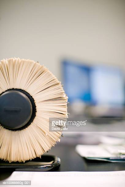 rotary file, close-up (focus on foreground) - 固定された ストックフォトと画像