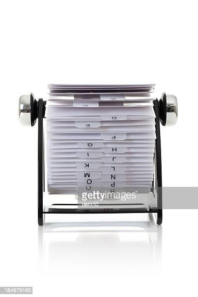 Rotary file