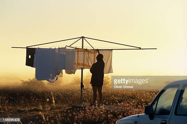 Rotary washing line, Cape York Peninsula
