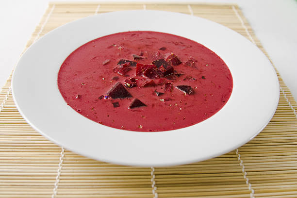 Rote Beete Suppe - Beetroot Soup