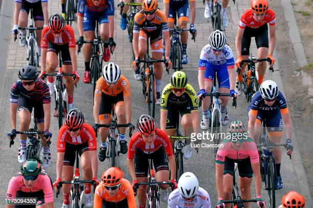 Rotem Gafinovitz of Israel and Team Canyon Sram Racing / Roxane Knetemann of The Netherlands and Team Parkhotel Valkenburg / Floortje Mackaij of The...