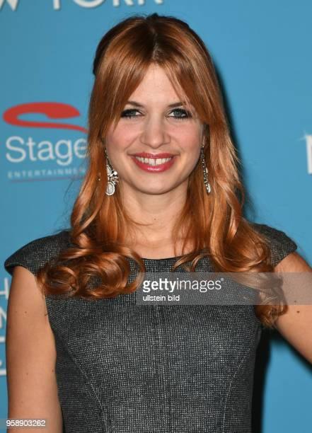 Roten Teppich zur Premiere von Ich war noch niemals in New York am 19 Januar 2017 im Stage Theater an der Elbe Susan Sideropoulos Schauspielerin