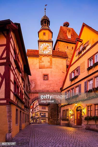 Rothenburg at sunrise