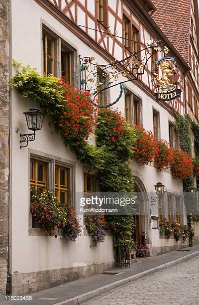 rothenburg hotel - inn stock pictures, royalty-free photos & images