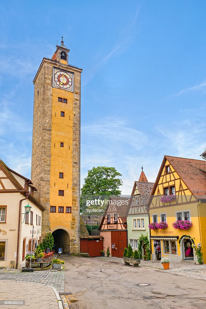 Rothenburg ob der tauber, Germany : Stock Photo