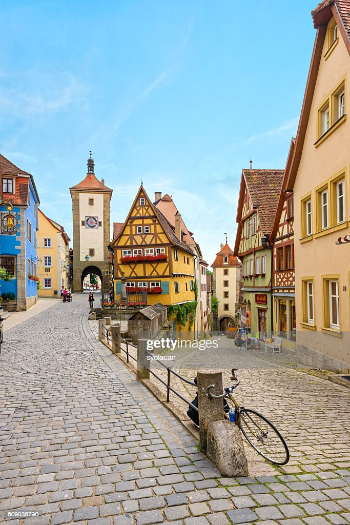 Rothenburg ob der tauber, Germany : Stock Photo