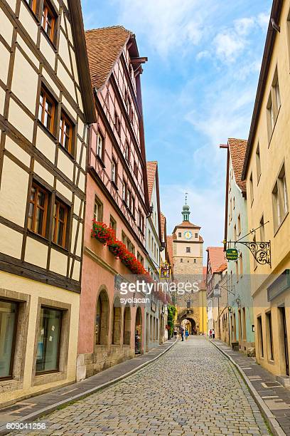 rothenburg ob der tauber, germany - syolacan stock pictures, royalty-free photos & images