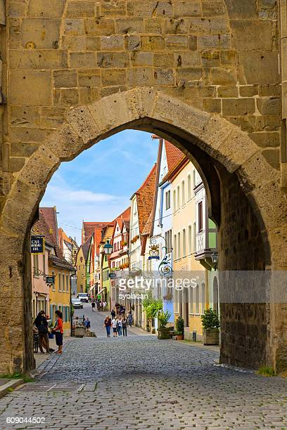 rothenburg ob der tauber, germany - syolacan stock-fotos und bilder