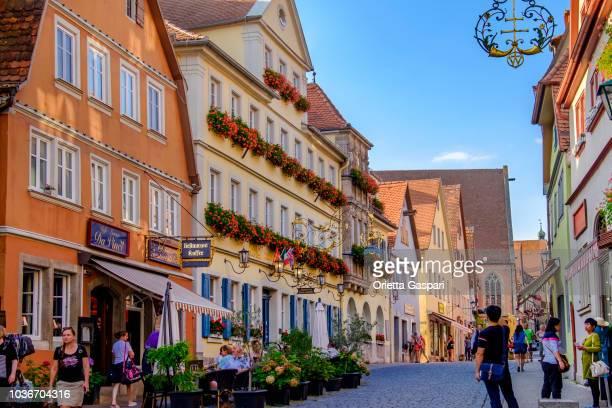 Rothenburg ob der Tauber Old Town (Bavaria, Germany)