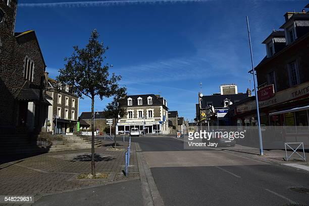 Rotheneuf street Saint Malo city