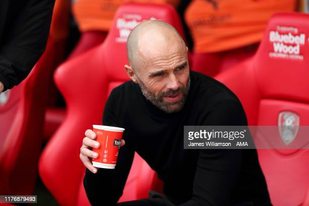 Rotherham United manager / head coach Paul Warne during the Sky Bet League One match between Rotherham United and Oxford United at AESSEAL New York...