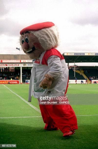 Rotherham United mascot Dusty Miller