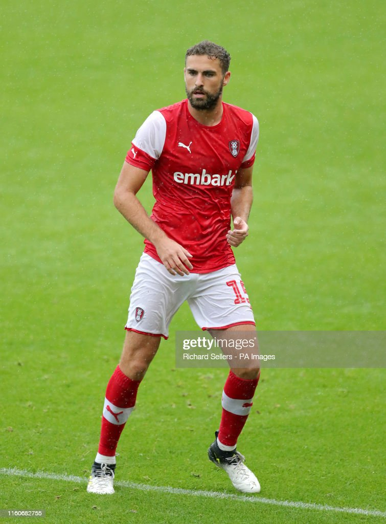 Rotherham United's Clark Robertson News Photo - Getty Images