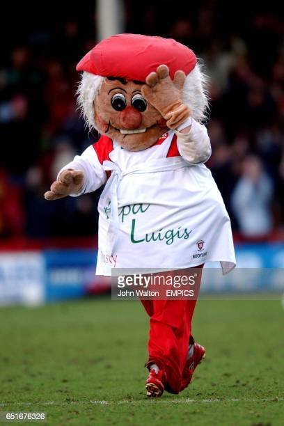 Rotherham United's mascot Dusty Miller