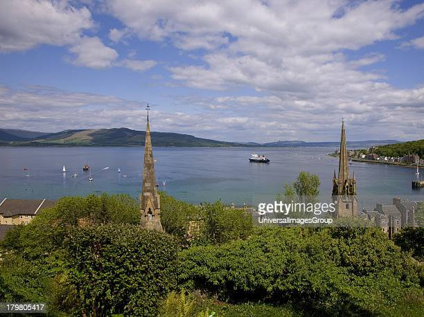Rothesay Bay Isle of Bute Argyll Scotland United Kingdom