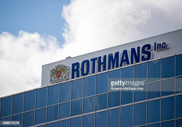 Rothmans office building on the Don Mills Road North York Ontario Canada Rothmans International plc was a British tobacco manufacturer which was...