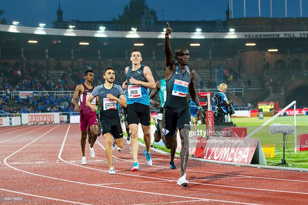 Stockholm - IAAF Diamond League 2016 : News Photo