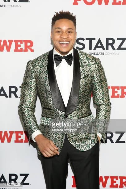 Rotimi Akinosho attends the Power final season world premiere at The Hulu Theater at Madison Square Garden on August 20 2019 in New York City