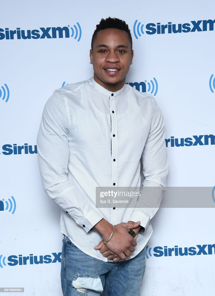 Rotimi Akinosho visits the SiriusXM Studios on June 19, 2017 in New York City.