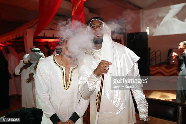 Rotimi and Fabolous attend Fabolous' A Night In FABU DHABI Birthday Celebration on November 18 2016 in New York City