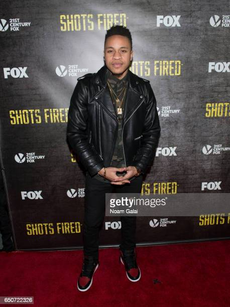 Rotimi attends the Shots Fired New York special screening at The Paley Center for Media on March 9 2017 in New York City
