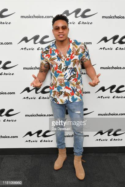 Rotimi visits Music Choice on May 22 2019 in New York City