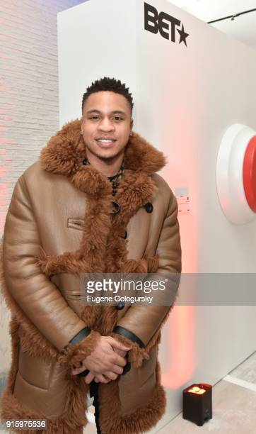 RotimiÊattends the BET NETWORKS Hosting of the Opening Night Reception For 'THE MUSEUM OF MEME' In Celebration Of 'THE BET SOCIAL AWARDS' at The...