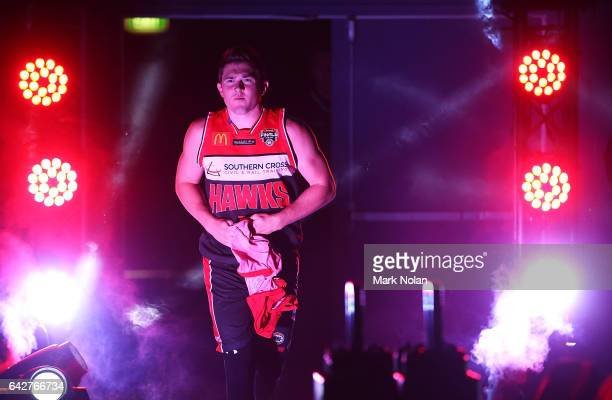 Rotnei Clarke of the Hawks enters the stadium during the second NBL Semi Final match between Illawarra Hawks and the Adelaide 36ers at WIN...