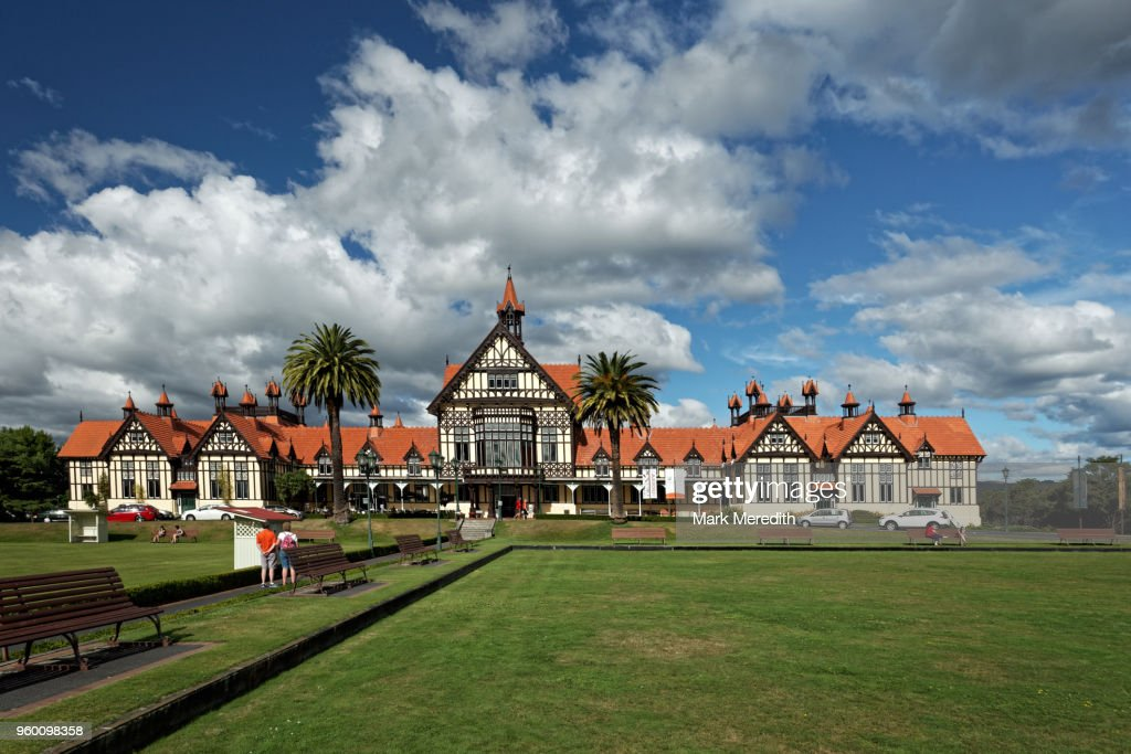 Rotorua Bathhouse and Museum : Stock-Foto