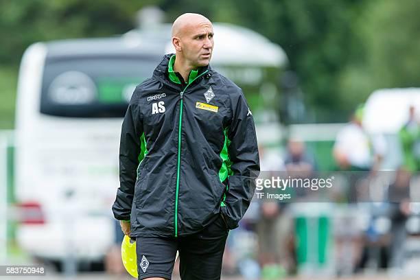 """Rottach-Egern, Deutschland, , Trainingslager, Borussia Moenchengladbach Cheftrainer Andre Schubert """"n""""n"""