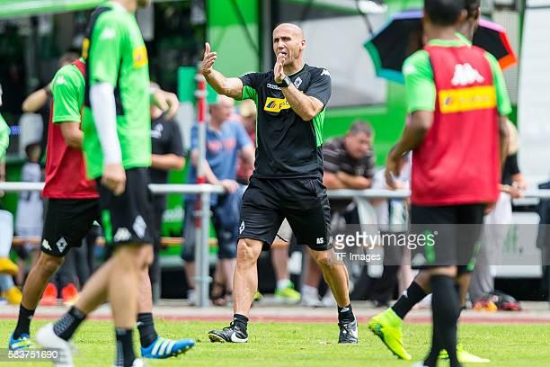Rottach-Egern, Deutschland, , Trainingslager, Borussia Moenchengladbach Cheftrainer Andre Schubert