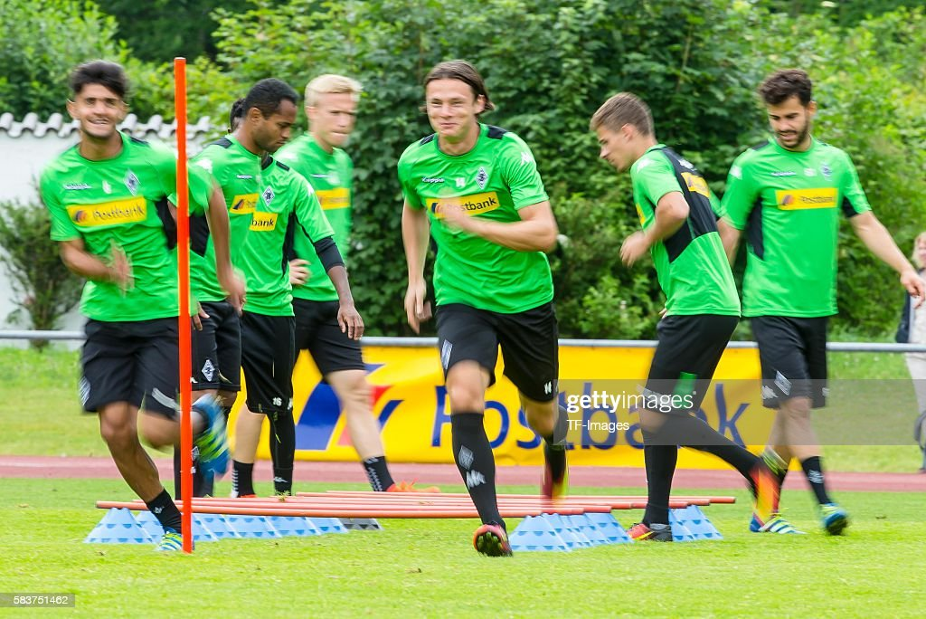 BL: Trainingslager Borussia Moenchengladbach in Rottach-Egern : News Photo