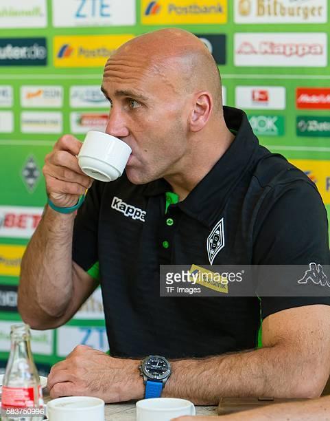Rottach-Egern, Deutschland, , Trainingslager, Borussia Moenchengladbach Resuemee von Cheftrainer Andre Schubert zum Trainingslager in Rottach-Egern...