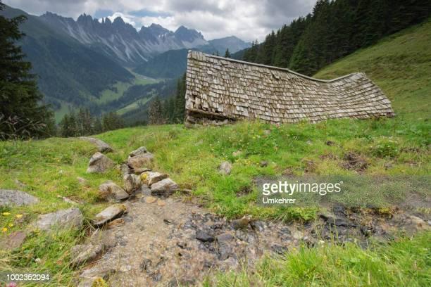 Faule Hous in den Alpen
