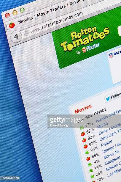 rotten tomatoes webpage - rotten com stock pictures, royalty-free photos & images