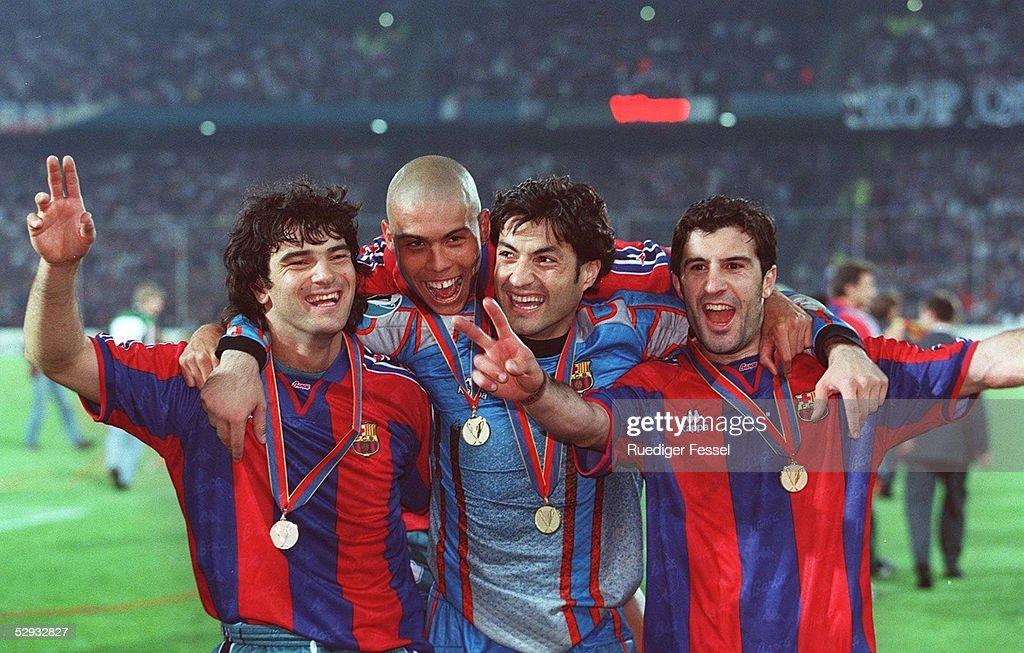 FUSSBALL: EUROPAPOKAL DER POKALSIEGER FINALE Rotterdam, 14.05.1997 : News Photo
