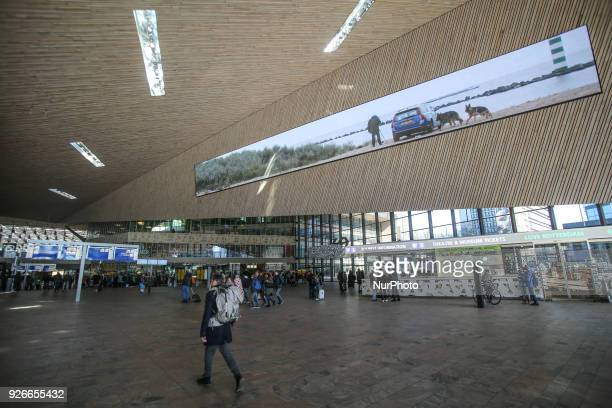 Rotterdam Centraal station is the main train station of the city of Rotterdam in the Netherlands the new building was built in 2012 The station...