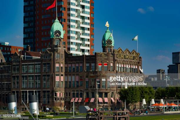 Rotterdam Old Building of the Holland Amerika Line