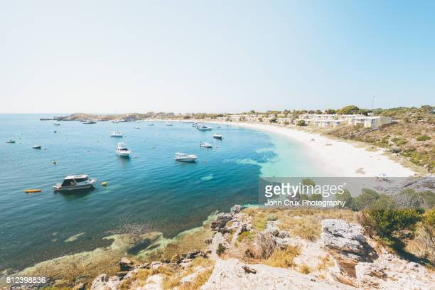 rottnest island lookout - western australia stock photos and pictures