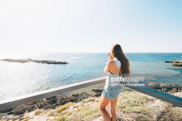 rottnest tourist girl