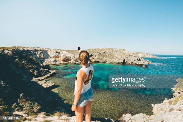 rottnest tourist - western australia stock photos and pictures