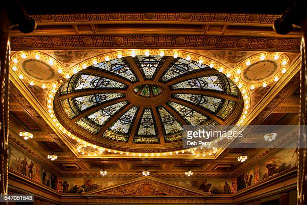 Rotunda dome stained glass