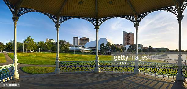 rotunda in adelaide festival centre - adelaide festival stock pictures, royalty-free photos & images