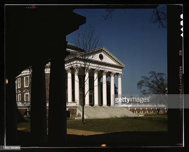 Rotunda of the University of Virginia Charlottesville Virginia 1943