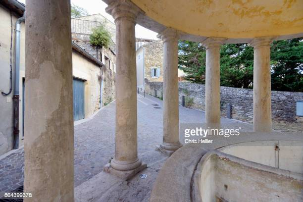Rotunda or Round Lavoir Grignan Drome France