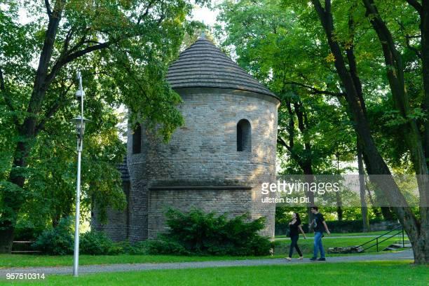 Rotunde Burgberg Cieszyn Polen
