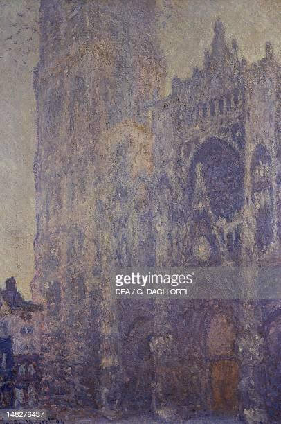 Rouen Cathedral by Claude Monet . ; Paris, Musée D'Orsay .
